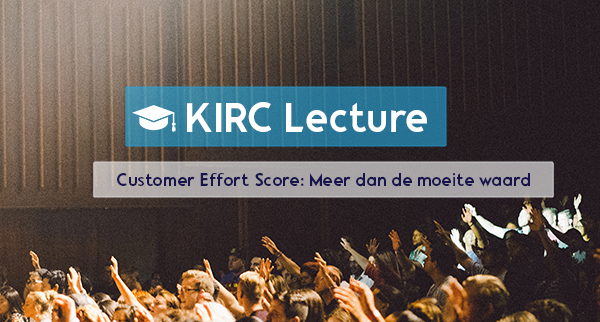 Customer Effort Score: méér dan de moeite waard